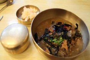 도토리묵밥,경기도 평택시,지역음식