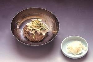 숯골냉면,대전광역시 유성구,지역음식