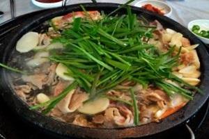오리불고기,부산광역시 금정구,지역음식